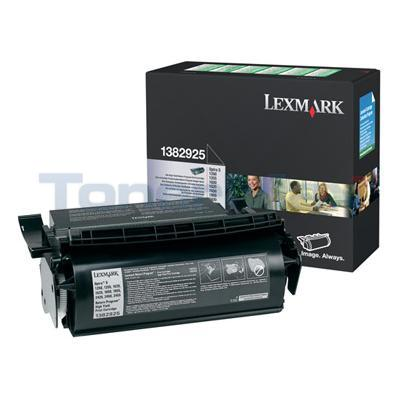 LEXMARK OPTRA S1250 PRINT CART BLACK RP 17.6K